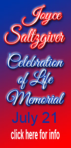 Celebration of Life - Joyce Saltzgiver